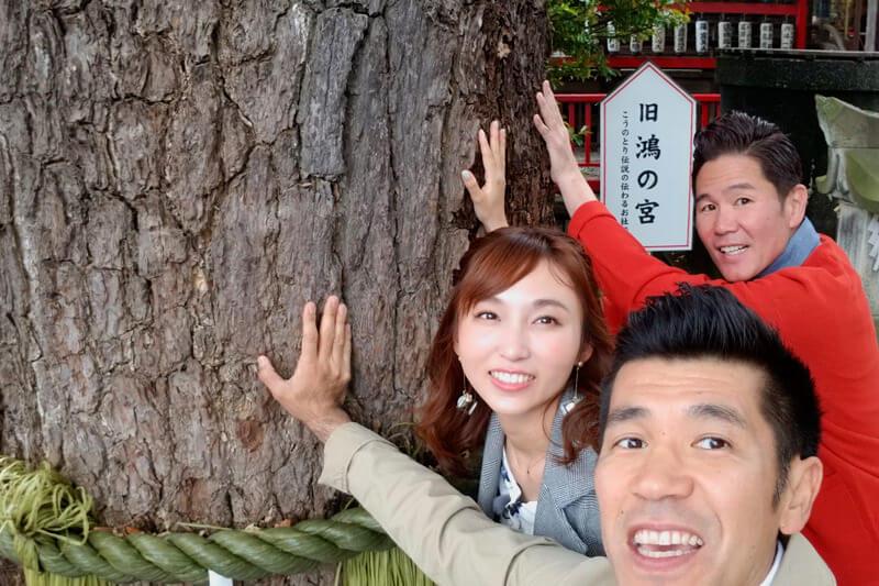 新婚の吉木りさが「子授け・安産」の御利益を授かりに埼玉県鴻巣市の鴻神社へ!