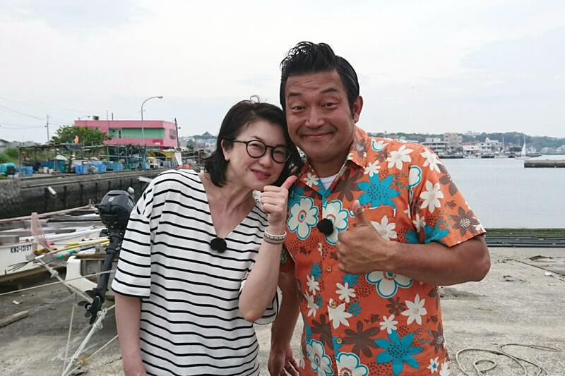 山口智充、夏川結衣 ©関西テレビ