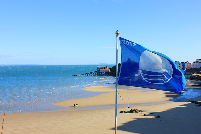 Tenby Blue Flag