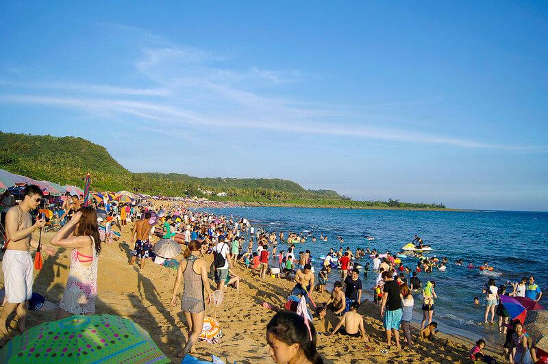 台湾・墾丁のビーチ