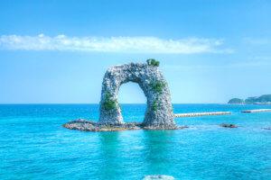 奥尻島 鍋釣岩 2010