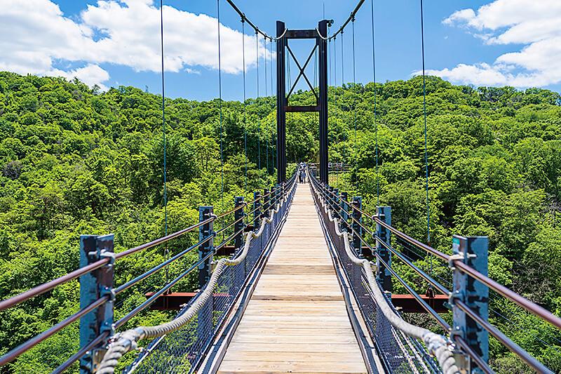 日本最大級の絶景つり橋「星のブランコ」に行きたい♪大阪・交野市のほしだ園地をご紹介