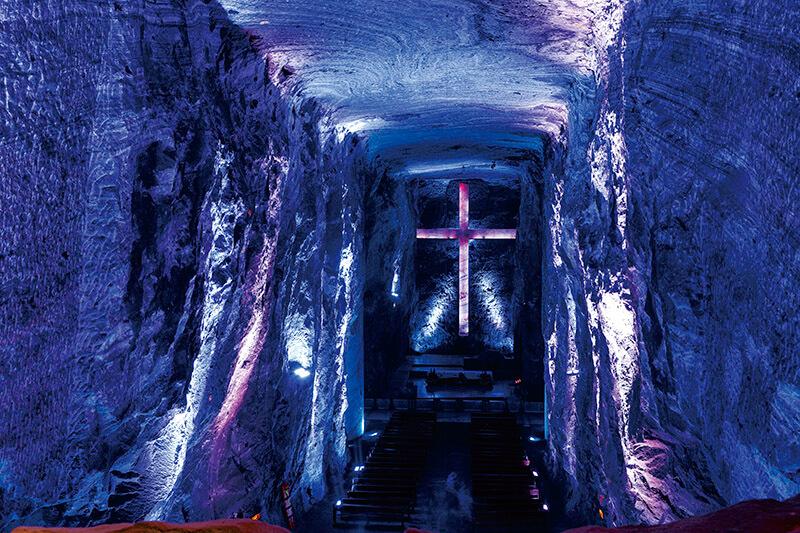 コロンビア 塩の教会