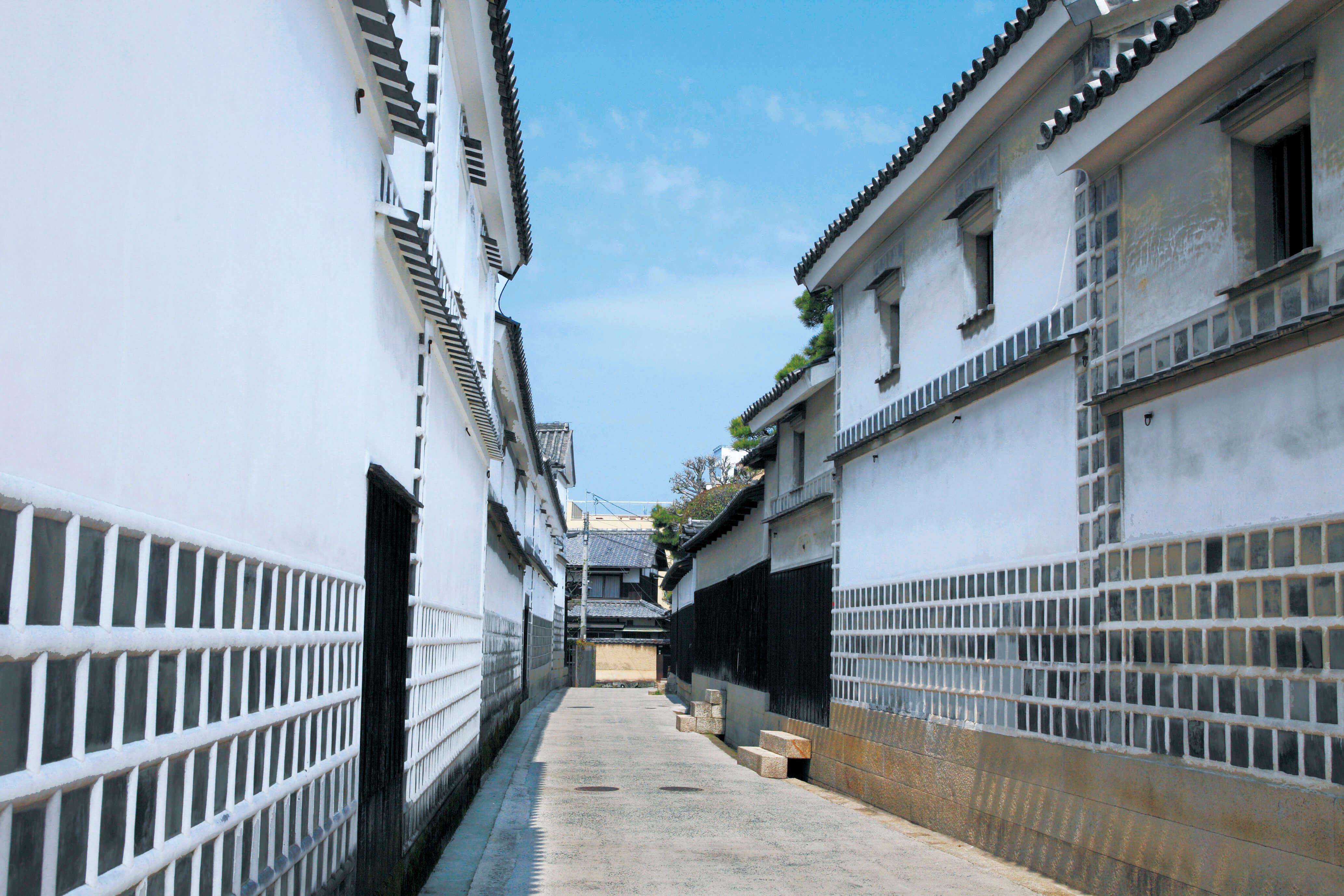 倉敷美観地区 なまこ壁