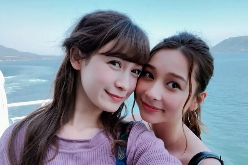 モデルの藤井サチとNikiが鹿児島二人旅。桜島でのカヤック体験では海底から湧き出る温泉に大興奮!