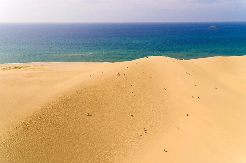 鳥取県に行くなら絶対行きたい観光地「鳥取砂丘」!絶景アクティビティにらくだも乗れちゃう♪