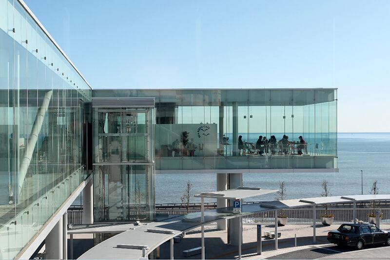 茨城県が世界に誇る絶景天空カフェ♪日立駅直結「シーバーズカフェ」