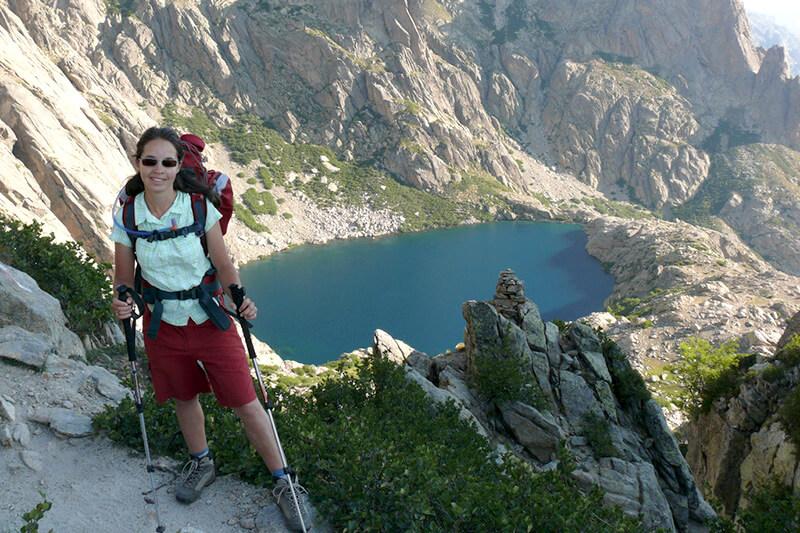 コルシカ島 ハイキング カピテロ湖