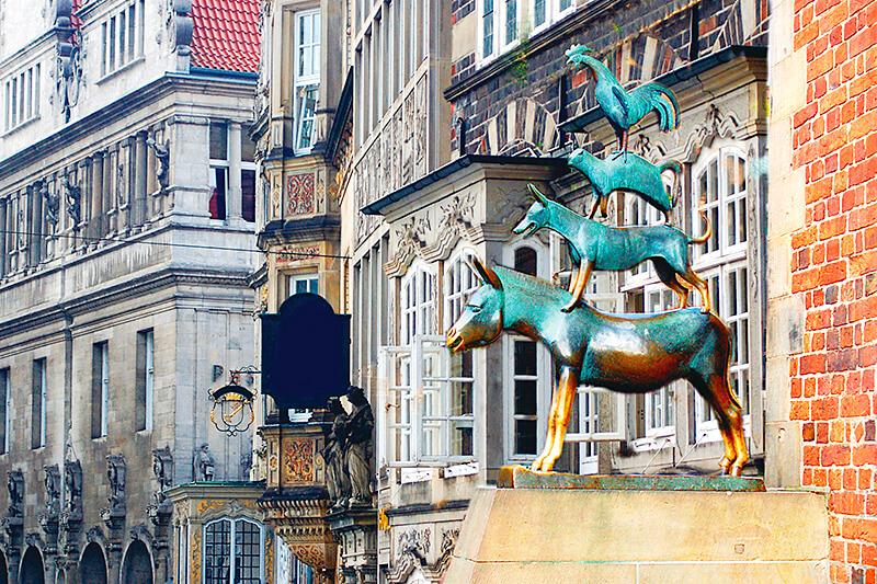 童話で知ったあの地名!ドイツのブレーメンは観光もグルメも魅力いっぱい!