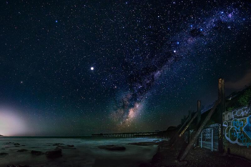 キャサリンヒルベイの星空