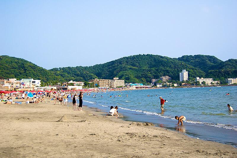 楽しい逗子海岸
