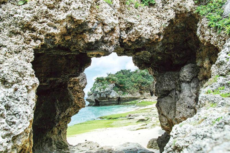 チグヌ浜 古宇利島