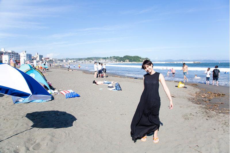 片瀬海岸 東浜