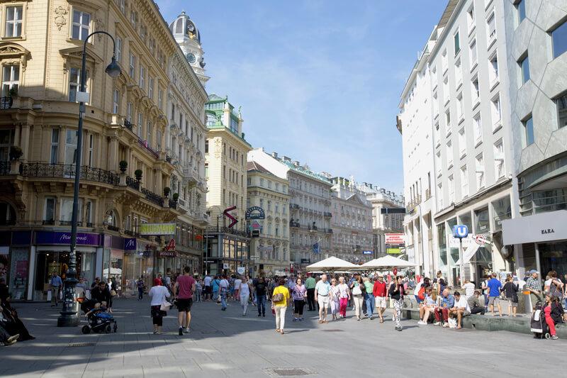 旧市街 町並み オーストリア ウィーン