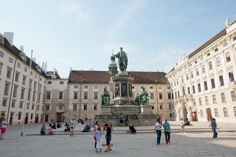 ホーフブルク宮殿 旧市街 オーストリア ウィーン