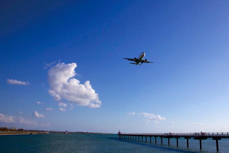 瀬長島飛行機