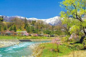 春の水上峡