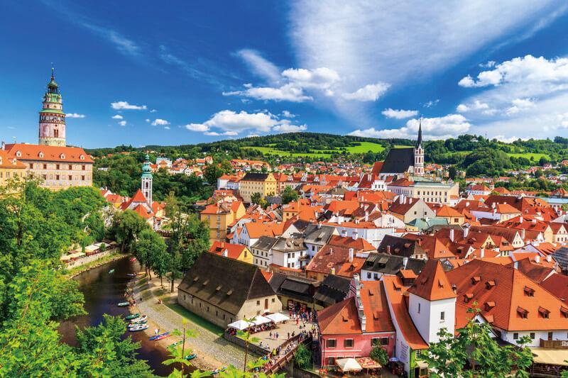 """チェコにある""""世界一美しい街""""チェスキー・クルムロフ"""