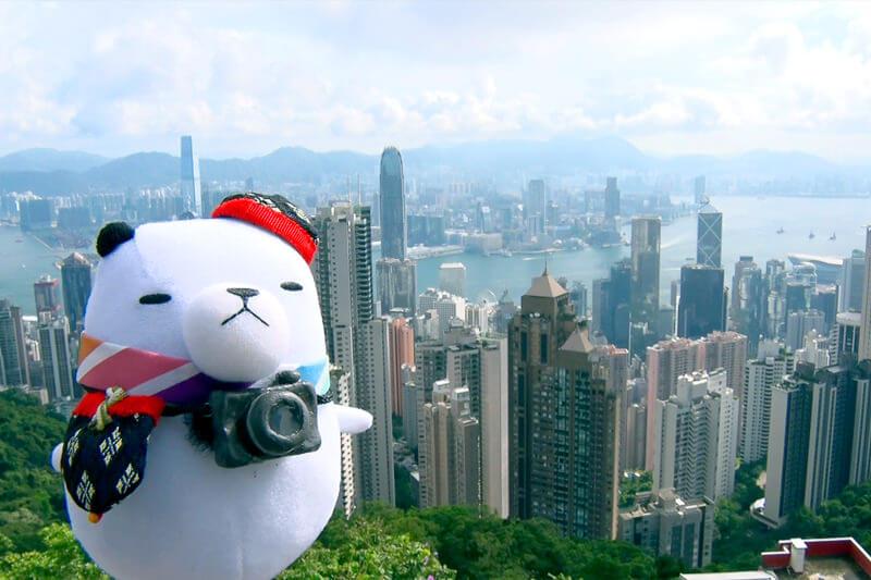 人気観光地・香港 ©関西テレビ
