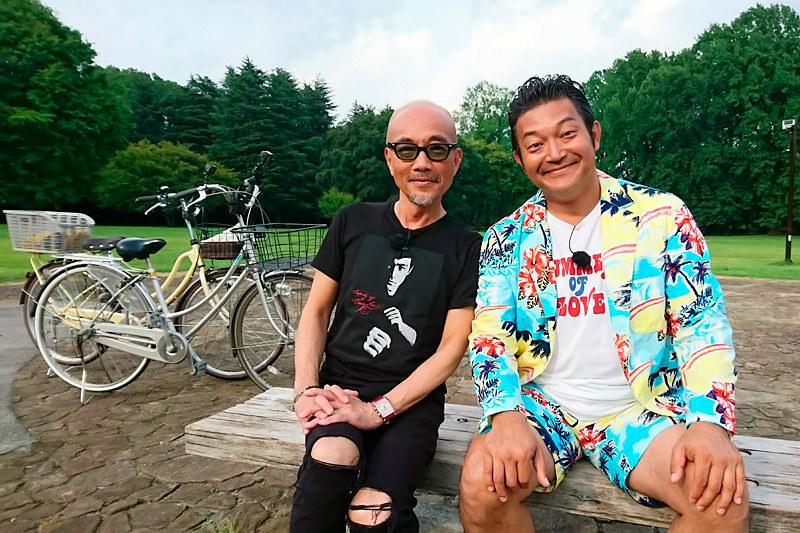 竹中直人が学生時代の思い出の地・国分寺へ!懐かしの名曲に乗せてサイクリング!