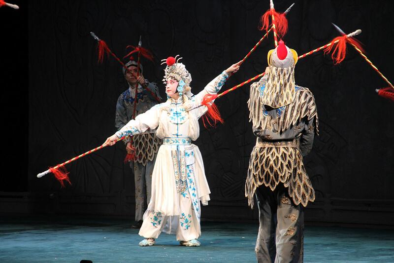 京劇の舞台