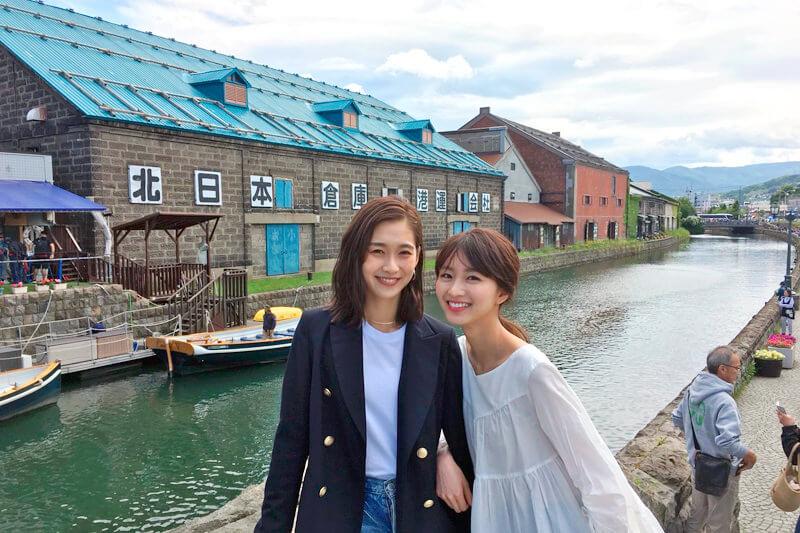 岡崎紗絵と谷川りさこが夏の北海道へ!ニセコで大自然をアクティブに楽しむ!