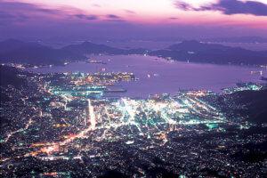 灰ヶ峰の夜景