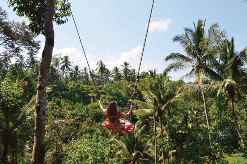バリ島ウブドにある絶景ブランコ「バリ・スイング」がスリリングでフォトジェニック!