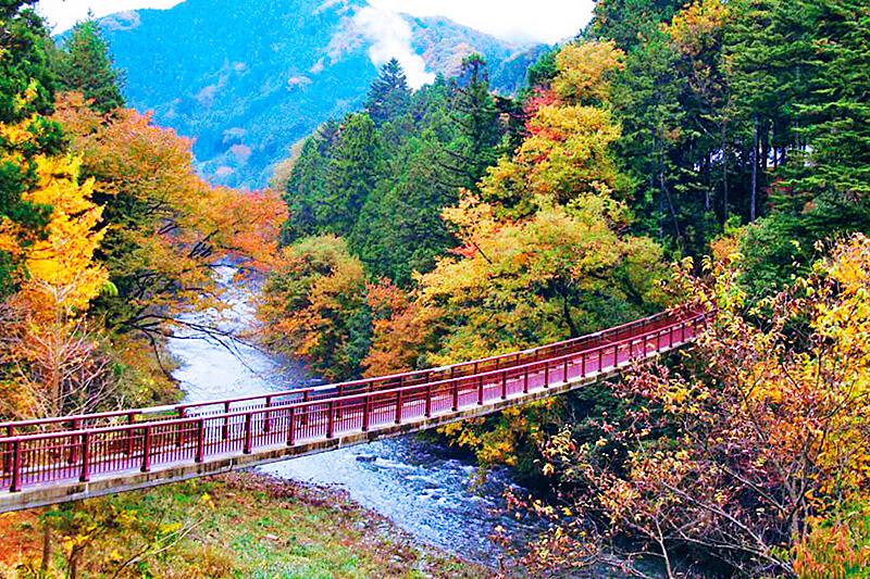 秋川渓谷 紅葉