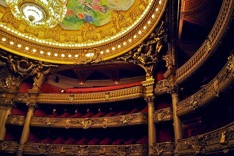 オペラ座 内部