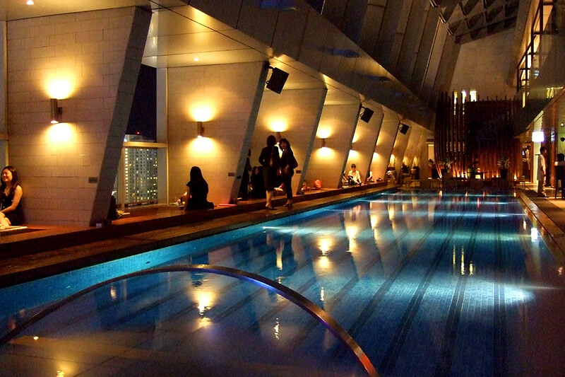レーダースホテル・クアラルンプール プール スカイバー