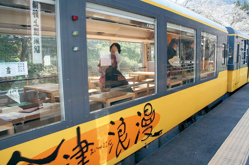 会津鉄道トロッコ列車