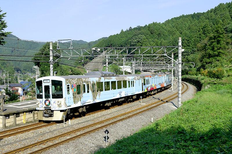 西武鉄道秩父線 吾野駅付近52席の至福