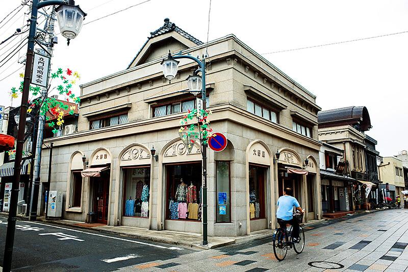 埼玉県川越市の「大正浪漫夢通り」で古き良き街並み散策を楽しもう!