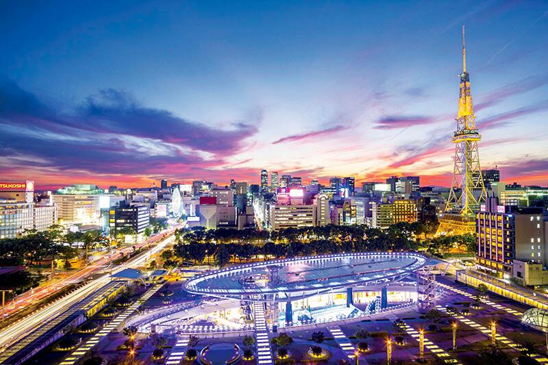 名古屋の夜をもっとロマンチックに♪夜景を楽しめるオススメスポットをご紹介!