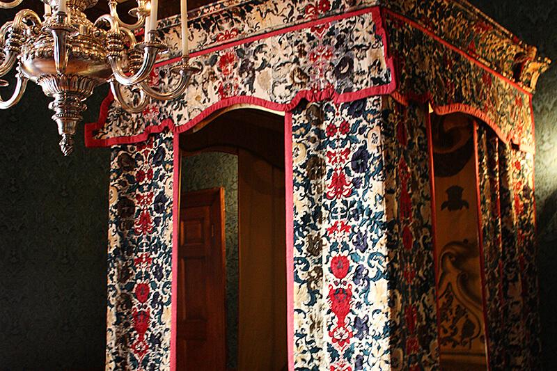 ヴィクトリア女王の寝室