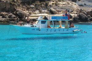 ランペドゥーザ島 フライングボート