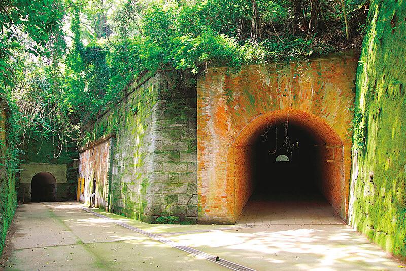 猿島フランドル積み 史跡 歴史遺産