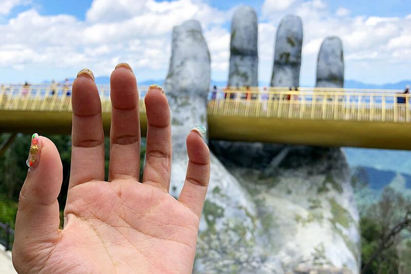 バナヒルズ 神の手
