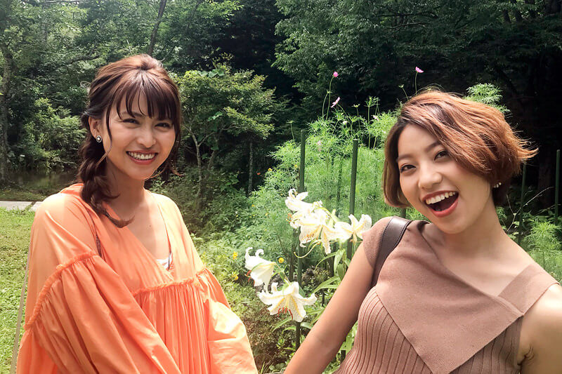 Rihwaと三原勇希が富士山麓の大自然を感じる。忍野村の日本の原風景の中で歌も披露!
