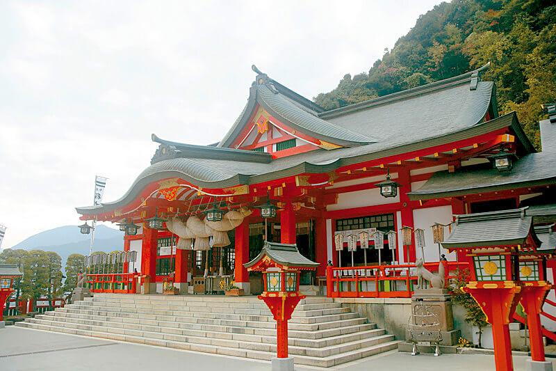 津和野 太皷谷稲成神社本殿
