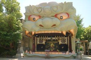 難波八阪神社 獅子殿