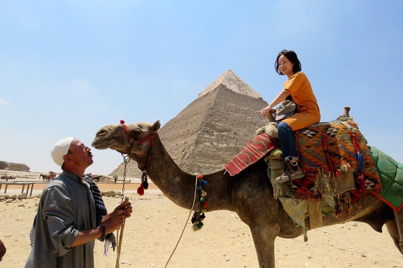 エジプト-ギザ-