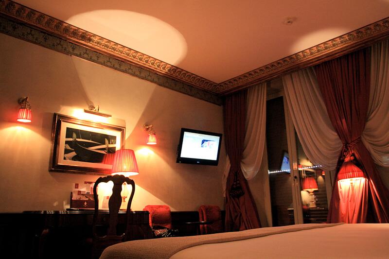 ホテルダニエリ ラグジュアリーラグーンビュールームベッドルーム