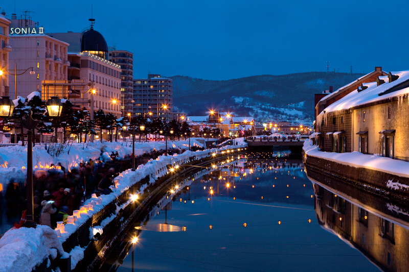 札幌から約50分!歴史ある運河の街「小樽」でノスタルジックな旅を楽しもう♪
