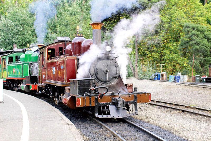 パッフィンビリー鉄道