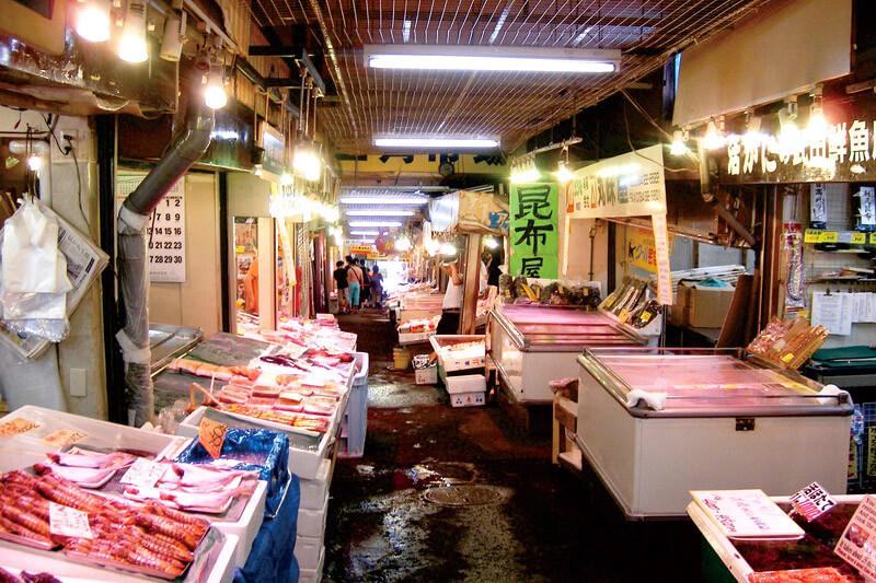 三角市場 小樽