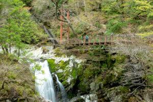 奈良県 みたらい渓谷 遊歩道