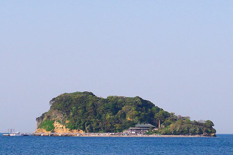 猿島 遠景