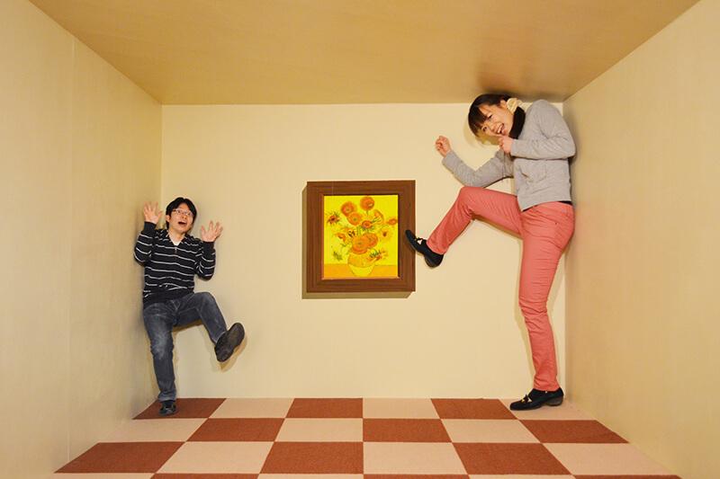 面白い写真が撮れる!栃木県のトリックアート美術館「那須とりっくあーとぴあ」